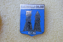 U.S. Busalla Calcio Distintivi FootBall Soccer Pin Spilla Italy Genova Liguria - Calcio