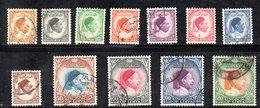 APR2324 - LIBIA LYBIA 1952 , Serie  Yvert  N. 126/137  Usata (sassone 34/45) (2380A) El Senoussi - Libia