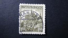 Czechoslovakia - 1937 - Mi:CS 386, Sn:CS 240, Yt:CS 312A Used - Look Scan - Cecoslovacchia