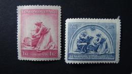 Czechoslovakia - 1937 - Mi:CS 362-3, Sn:CS B148-9, Yt:CS 322-3*MH - Look Scan - Ungebraucht