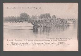 Liège - Exposition Universelle Et Internationale De Liège 1905 - Le Pont De L'exposition - Pub. Savon Soleil - Liege
