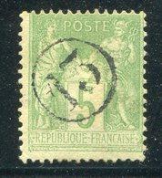 "Frankreich / Fingerhut-Stempel ""13"" A. Mi. 59 (23626) - Frankreich"