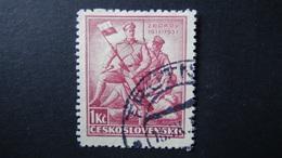 Czechoslovakia - 1937 - Mi:CS 374, Sn:CS 229, Yt:CS 326 Used - Look Scan - Tschechoslowakei/CSSR