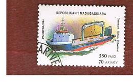 MADAGASCAR -  MI 1757  - 1994  MODERN SHIPS: VERSATILE BOAT     -  USED° - Madagascar (1960-...)