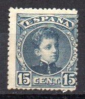 Sello Nº 244  España - 1889-1931 Reino: Alfonso XIII