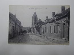 Carte Postale  - LE MEUX (60) - L'Eglise Et Le Bureau De Poste (3228) - France