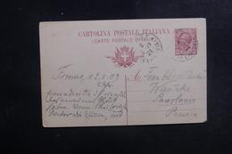 ITALIE - Entier Postal De Firenze Pour L 'Allemagne En 1921 - L 39677 - 1900-44 Vittorio Emanuele III