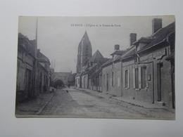 Carte Postale  - LE MEUX (60) - L'Eglise Et Le Bureau De Poste (3229) - Autres Communes