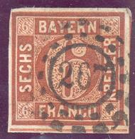 Bayern, Mi.-Nr.4IIao, 267 Landau, Pracht - Bayern (Baviera)