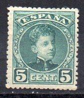 Sello Nº 242  España - 1889-1931 Reino: Alfonso XIII