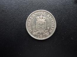 ANTILLES NÉERLANDAISES : 25 CENTS   1982    KM 11 *   SUP - Antille Olandesi