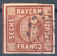 Bayern, Mi.-Nr.4IIao, Pracht - Bayern (Baviera)