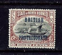 North Borneo 111 MNH 1901 Overprint - North Borneo (...-1963)
