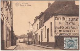 """28508g  ENTREE DU VILLAGE - """"CAFE RESTAURANT DU CENTRE - Jean DENEYER-POCKET""""  - Beersel - Beersel"""