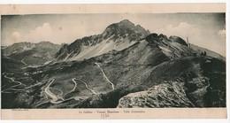Grande Carte Photo Ancienne Le Galibier Versant Maurienne Table D'orientation 1936 Montagne Alpes - Photographs