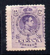 Sello Nº 270  España - 1889-1931 Reino: Alfonso XIII