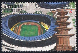 Soccer Football Antigua Barbuda #2355 1996 Olympics Atlanta MNH ** Stadium - Soccer