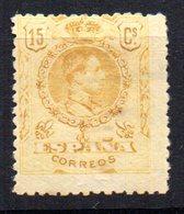 Sello Nº 271  España - 1889-1931 Reino: Alfonso XIII