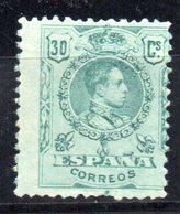 Sello Nº 275  España - 1889-1931 Reino: Alfonso XIII