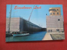 Eisenhower Lock  St Lawrence Seaway  > >  Ref    3562 - NY - New York