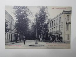 Carte Postale  - MOISSAC (82) - Avenue De La Gare Et Grand Hôtel Du Luxembourg (3242) - Moissac
