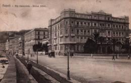 CPA - NAPOLI - VIA CARACCIOLO - GD HOTEL ... - Napoli (Naples)