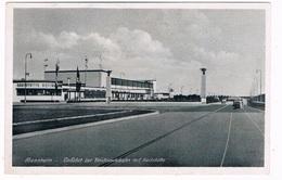 D-9569   MANNHEIM : Einfahrt Zur Reichsautobahn Mit Gaststätte - Mannheim