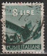 1945 Serie Democratica 8 Lire - Usato - 6. 1946-.. Republic