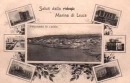 CPA - MARINA DI LEUCA - SALUTI   ... - Italie
