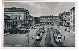 D-9572   MANNHEIM : Bahnhofplatz ( Tram ) - Mannheim
