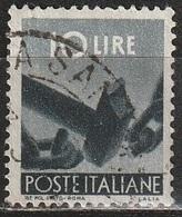 1945 Serie Democratica 10 Lire - Usato - 6. 1946-.. Republic