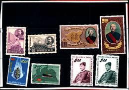 6760B) FORMOSA-LOTTO DI FRANCOBOLLI IN SERIE COMPLETE-MNH** - 1945-... Republic Of China