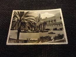 CARTOLINA PALERMO-LA CATTEDRALE-VIAGG.1956 CON ANNULLO PUBBLICITARIO 1° MOSTRA DELLA MECC.POSTALE - Palermo