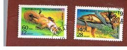 MADAGASCAR -  MI 1703.1705  - 1994  ANIMALS     -  USED° - Madagascar (1960-...)