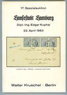 17. Kruschel Auktion 1983 - Hamburg Sammlung Edgar Kuphal Nebst Ergebnisliste - Auktionskataloge