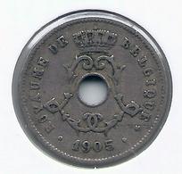 LEOPOLD II  * 5 Cent 1905 Frans * Nr 9934 - 1865-1909: Leopold II
