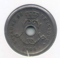 LEOPOLD II  * 5 Cent 1905 Frans * Nr 9935 - 1865-1909: Leopold II