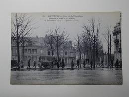 Carte Postale  - MEZIERES (08) - Place De La République Pendant La Crue De La Meuse 1919/1920 (3248) - Autres Communes