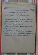 Lot 54 Auboue Homecourt DEPECHE SNCF 194? Gare Train - Ferrovie