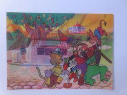 """""""Märchen, Pinocchio 3D Karte Walt Disney 1960 ♥  - Kinder"""