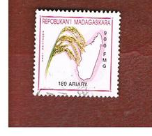 MADAGASCAR -  MI 2583  - 2001   RICE PANICLE  180    -  USED° - Madagascar (1960-...)