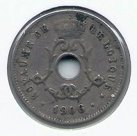 LEOPOLD II  * 5 Cent 1906 Frans * Nr 9938 - 1865-1909: Leopold II