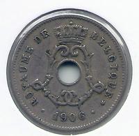 LEOPOLD II  * 5 Cent 1906 Frans * Nr 9939 - 1865-1909: Leopold II