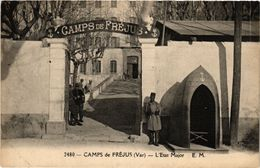 CPA Camps De FRÉJUS - L'Etat Major (275742) - Frejus
