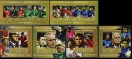 Soccer Football Antigua Barbuda 2 KB 3806/17 + Bl 546/9  World Cup Japan/Korea 2002 MNH ** - 2002 – South Korea / Japan
