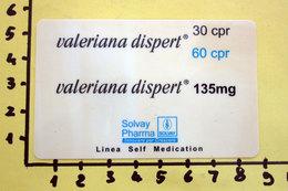 SOLVAY PHARMA CALENDARIO PLASTIFICATO 2001 - Calendari