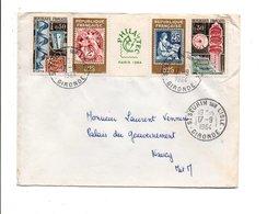 AFFRANCHISSEMENT COMPOSE SUR LETTRE 1964 - Marcophilie (Lettres)