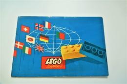 LEGO - IDEEËNBOEK - RaRe - Collectors Item - Original Lego System 1960's - Vintage - Catalogi