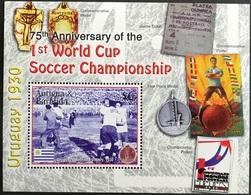 Soccer Football Antigua Barbuda Bl 616 2005 75th Anniv. World Cup  MNH ** - World Cup
