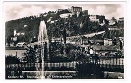 D-9586   KOBLENZ : Rheinanlagen Mit Ehrenbreitstein - Koblenz